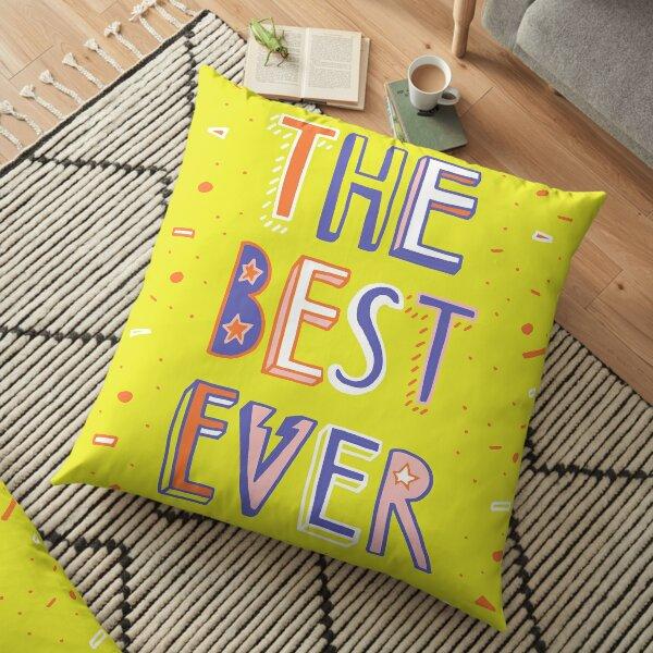 the BEST EVER Floor Pillow