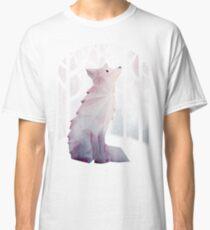 Fuchs im Schnee Classic T-Shirt
