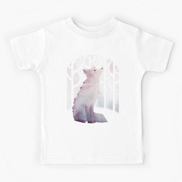 Fox in the Snow Kids T-Shirt