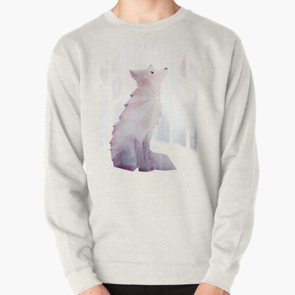 Fox in the Snow Pullover Sweatshirt