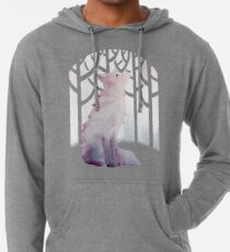 Fox in the Snow Lightweight Hoodie