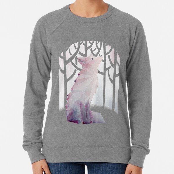 Fox in the Snow Lightweight Sweatshirt