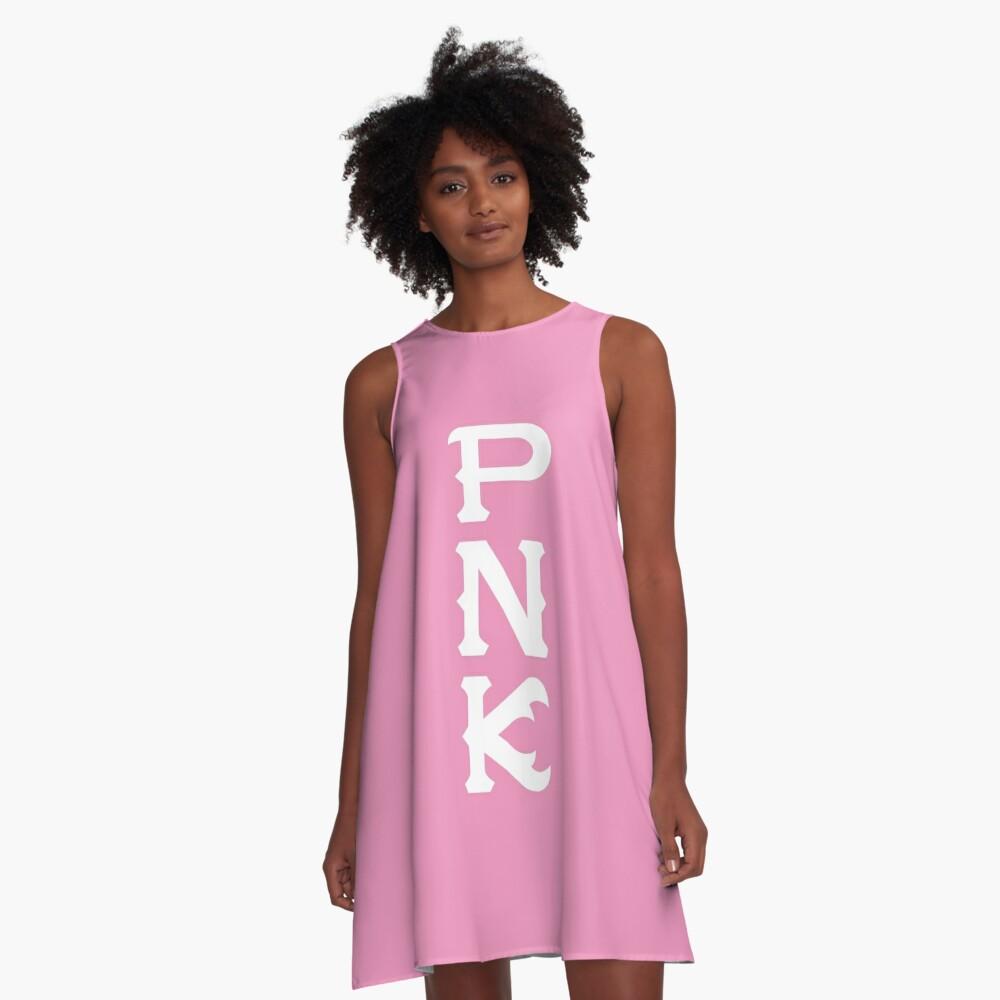 Python Nu Kappa (Monsters U) A-Line Dress