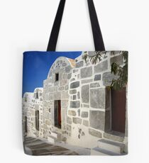 EINE GASSE IN CHORA, ASTYPALAIA Tote Bag