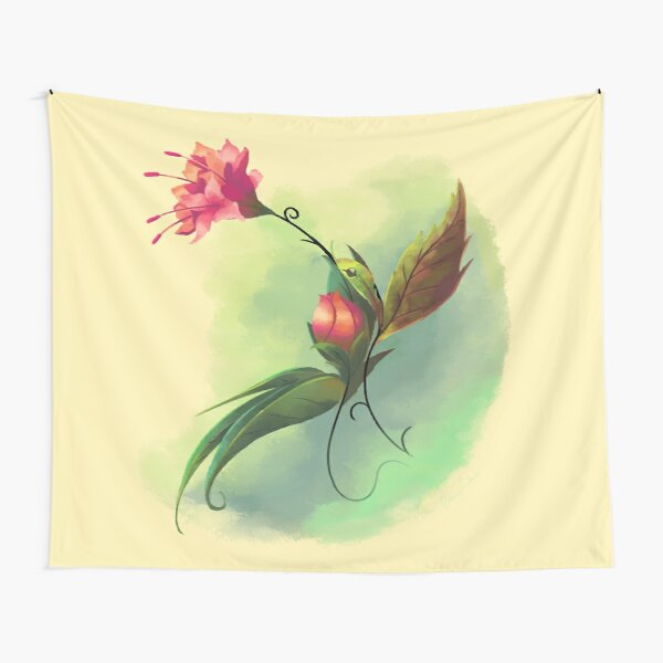 Essence of Nature - Humming Blossom Tapestry