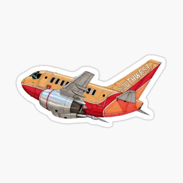 SWA Boeing 737-100  Sticker