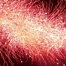 Fireworks Abstract 8 by Kevin J Cooper