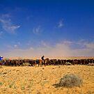 William Creek Muster by Richard  Windeyer