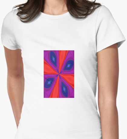Red, Purple and Gold Quadrant T-Shirt