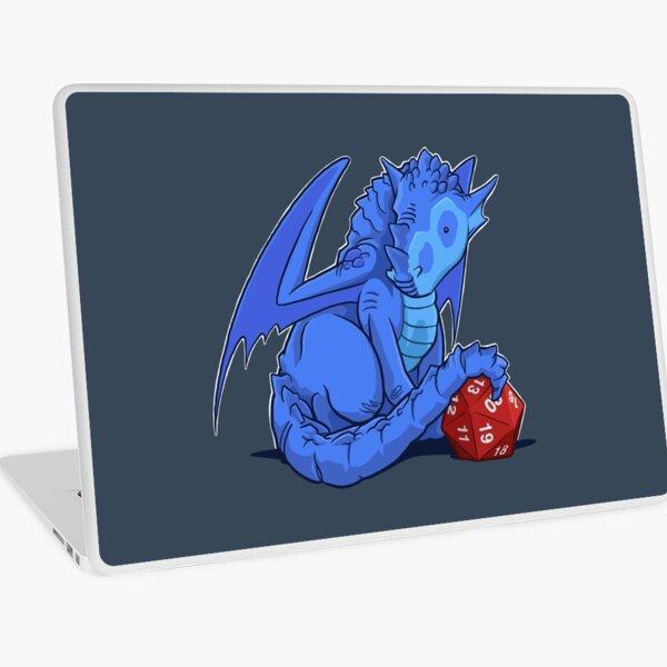 D20 Blue Dragon Laptop Skin