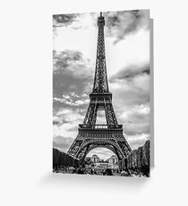 Eiffel Tower 10 Greeting Card