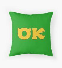 Oozma Kappa (Monsters U) Throw Pillow