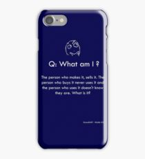 Riddle #5 iPhone Case/Skin