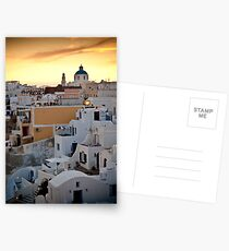 Oia at night Postcards