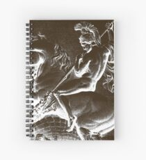Saint George Slaying the Dragon Hagiography Spiral Notebook