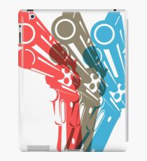 THE 3 REVOLVERS (COLTS) iPad Case/Skin