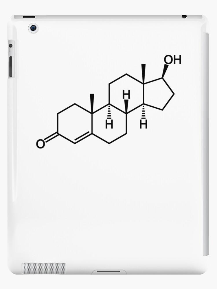 Testosterone Molecule Structure Chemistry Science Design Ipad