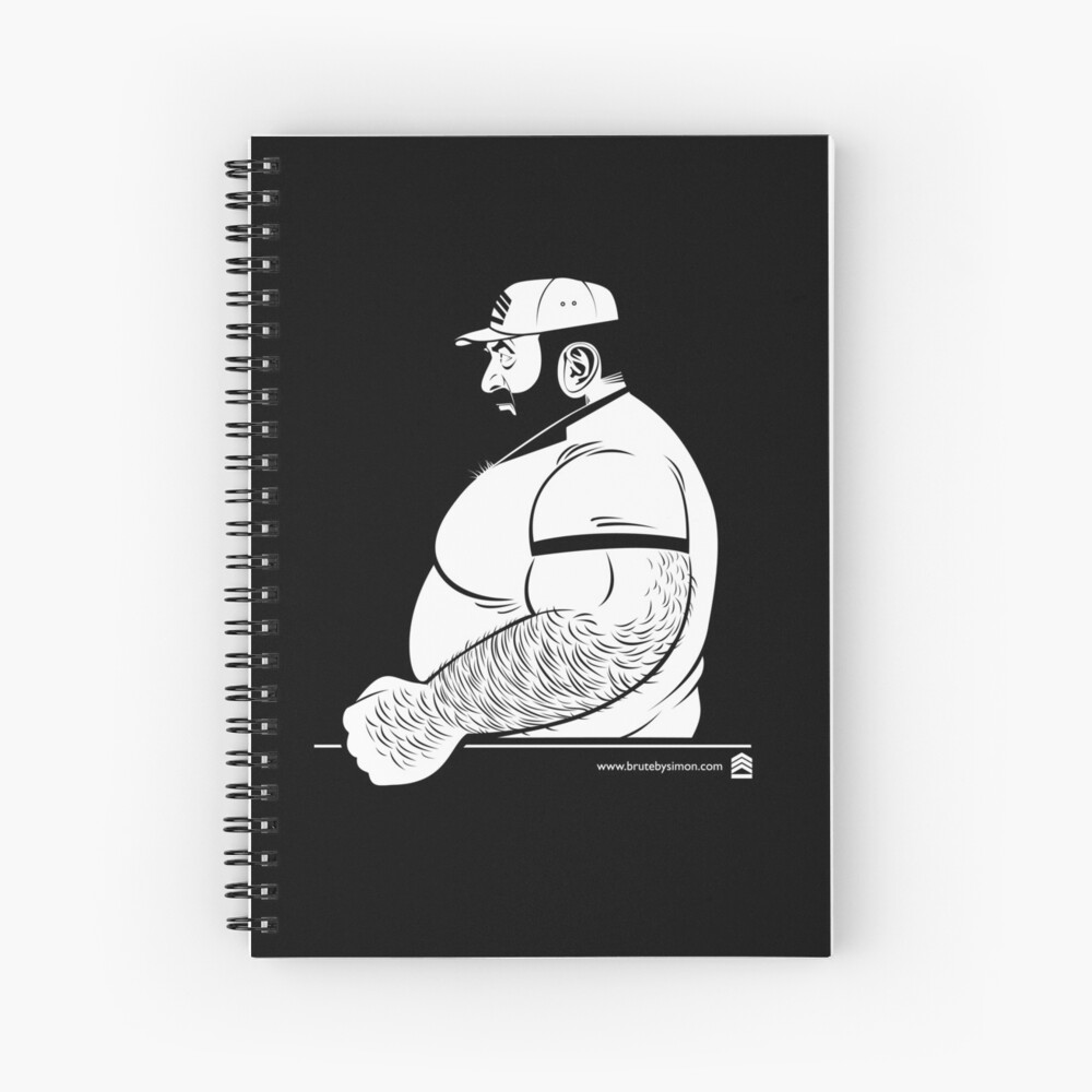 Brute Classic Spiral Notebook