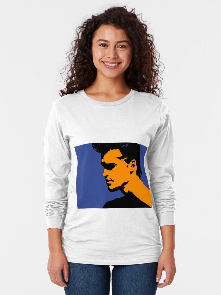 Alternate view of Portrait Long Sleeve T-Shirt