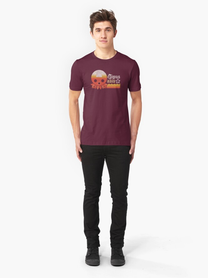 Alternate view of Octopus Oasis Slim Fit T-Shirt