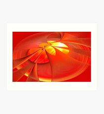 Hot Flash Art Print
