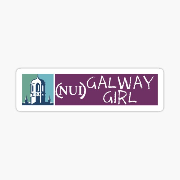 (NUI) Galway Girl Sticker