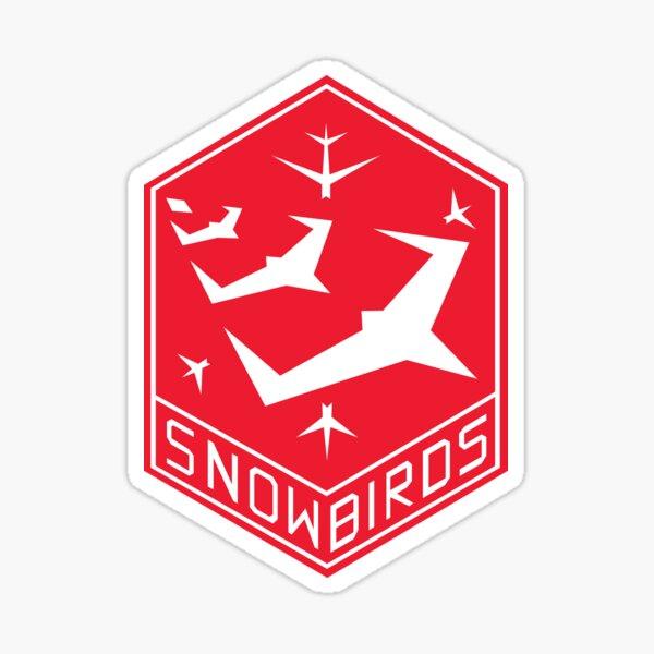 Snowbirds Insignia Sticker