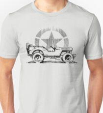 Standard Issue Willys - WW2 Unisex T-Shirt