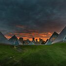 Apoclyptic Sunset by Sylvia Labelle