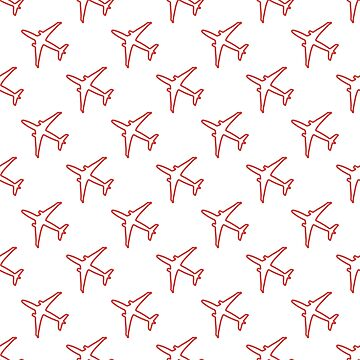 Seamless pattern with planes. by aquamarine-p