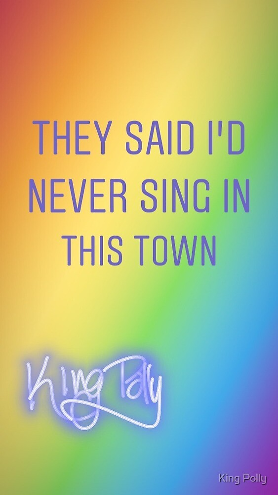 RAINBOW UNDERDOG KING POLLY QUOTE by kingpolly