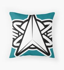 Space Force Insignia Design Throw Pillow