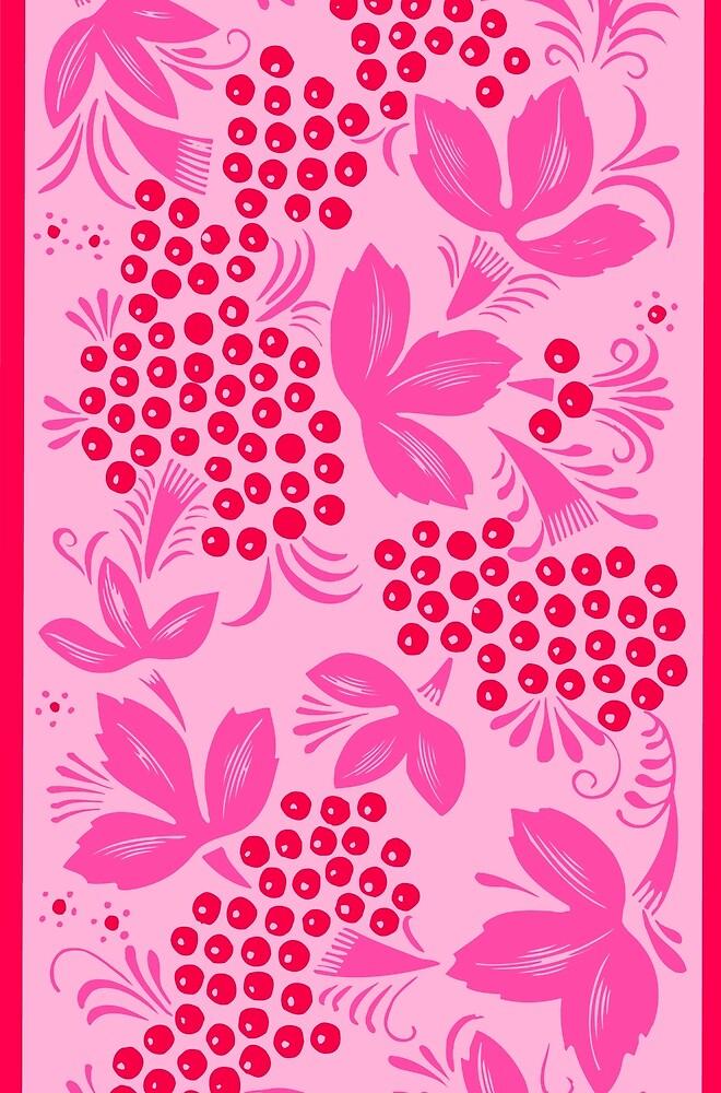 Pink Maple Ornament by diram