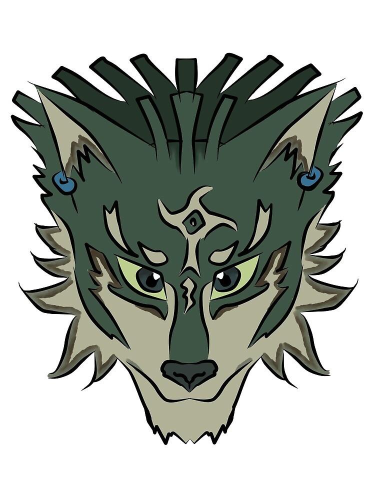 Wolf Link by RoseBlood-Wolf