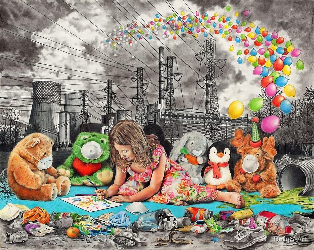 Dreamer... by DollyG-Art