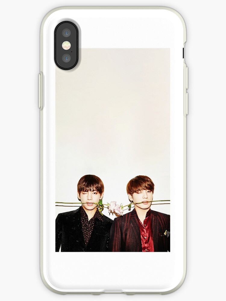 TAEHYUNG AND JUNKOOK PHONE CASE  by ronesp67