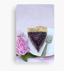 Slice of pie Canvas Print