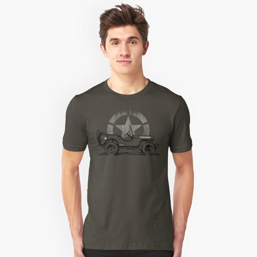 G.I Hero Willys - WW2  Unisex T-Shirt Front