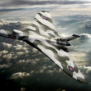 R.A.F. Vulcan by bmphoto