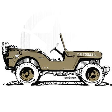 JK Willys Hero - WW2 by robert1117