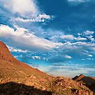 Turquoise Skies and Red Mountains by Deana Greenfield