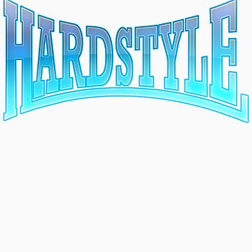 Hardstyle T-Shirt - Blue Minimal by Coreper