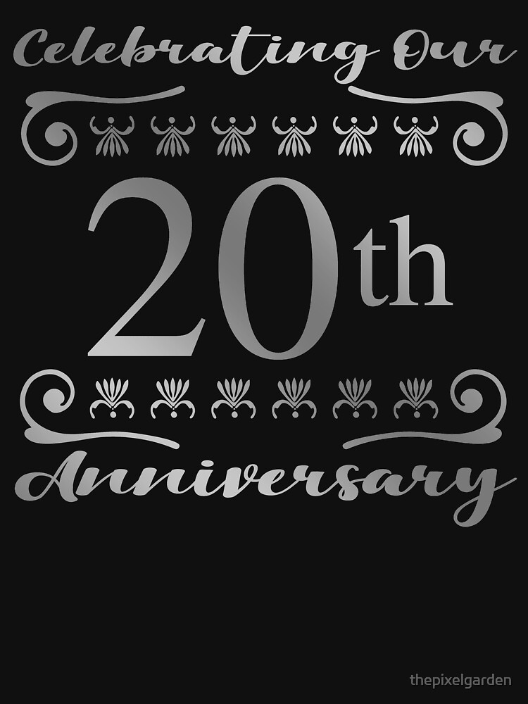 20th Wedding Anniversary by thepixelgarden