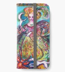 TAROTS OF THE LOST SHADOWS / THE MOON LADY iPhone Wallet/Case/Skin
