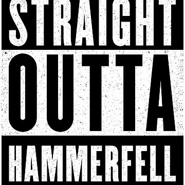 Straight Outta Hammerfell by GHDParody