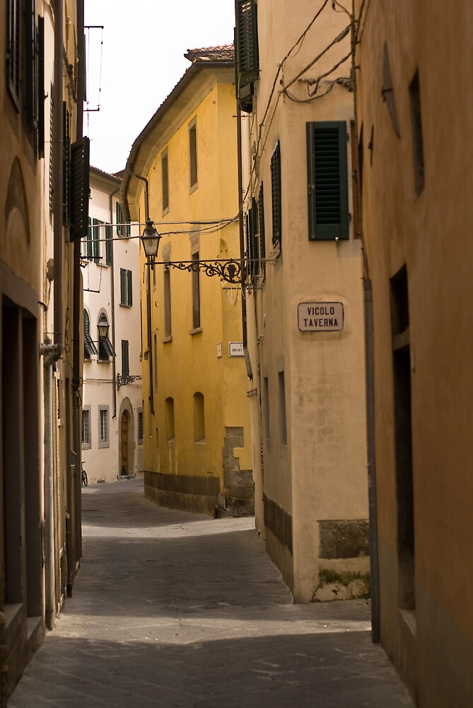 Street in Pistoia, Tuscany by Ilva Beretta