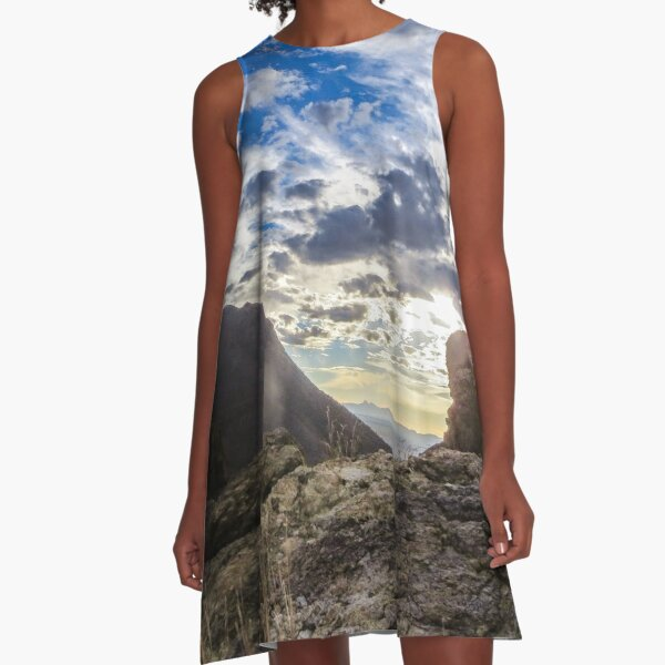 In the Mountains A-Line Dress