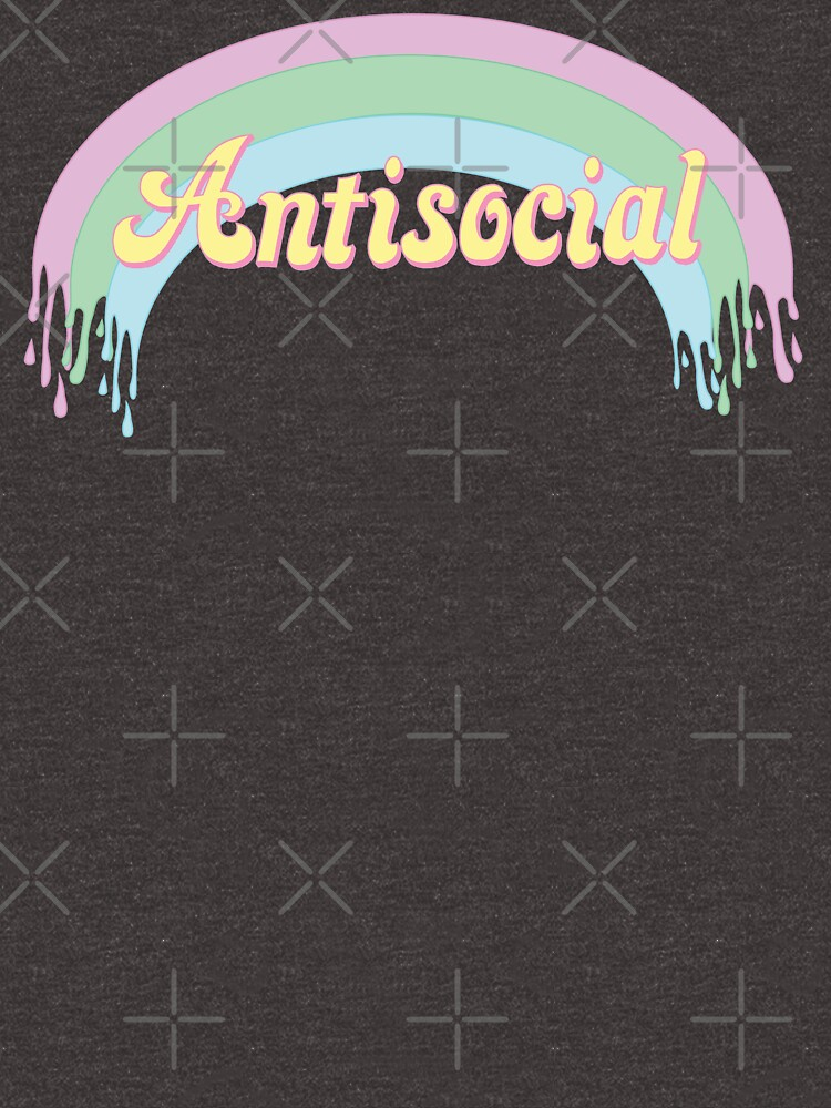 RGB Antisocial rainbow design by Imfi