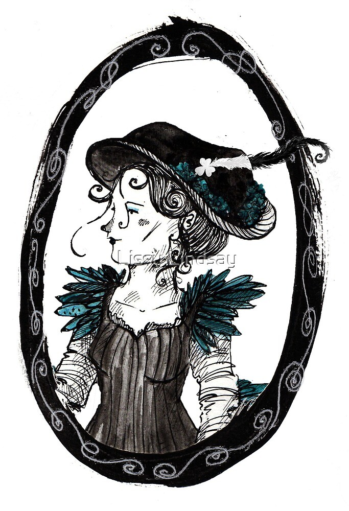Feathers and Fancy Hats by Lissy Lindsay