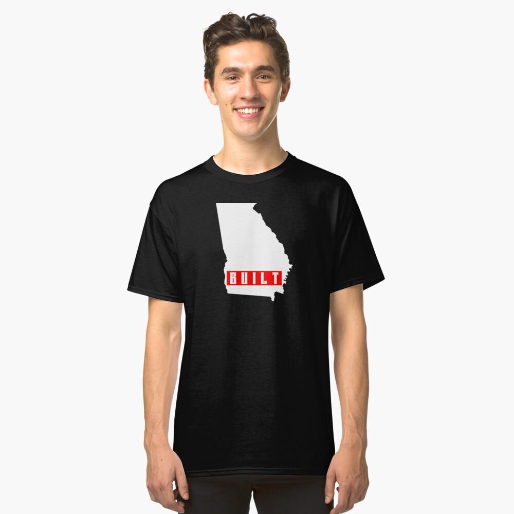 georgia built Classic T-Shirt Front